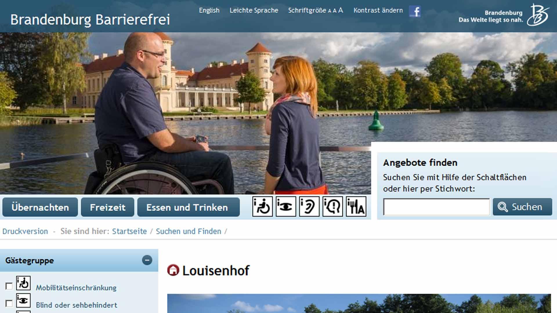 Brandenburgische Tourismustage Barrierefrei