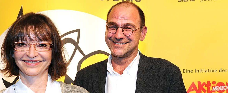 Johanna Mehlisch-Bosch und Thomas Hanusch als glückliche Preisträger