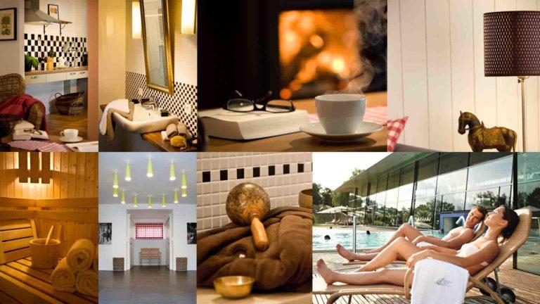 Motive aus den Apartments und zum Wellness