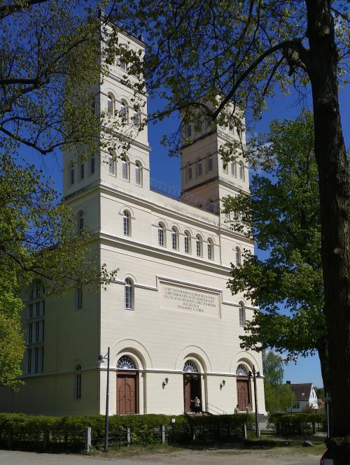 Schinkelkirche in Straupitz Spreewald