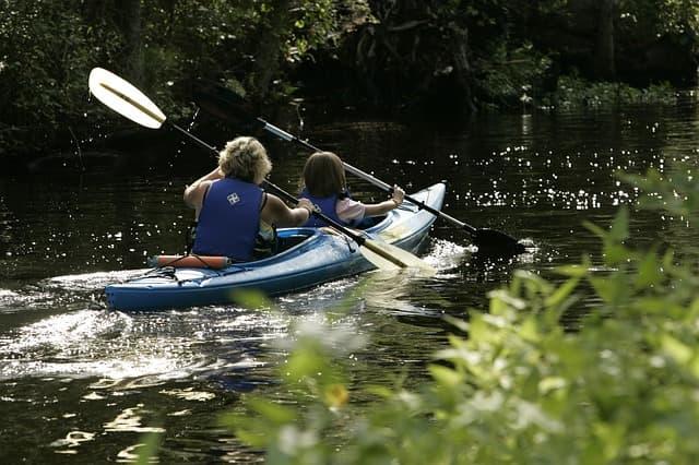 Spreewald-Marathon paddeln